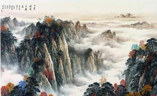 手绘另类风景意境画