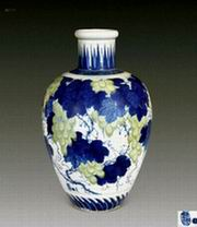 高温颜色釉陶瓷作品